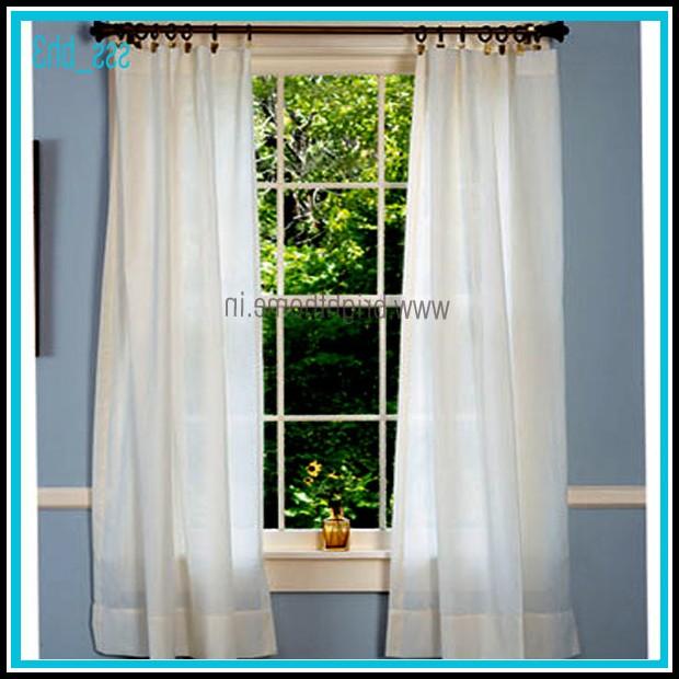 Semi Sheer Curtains India