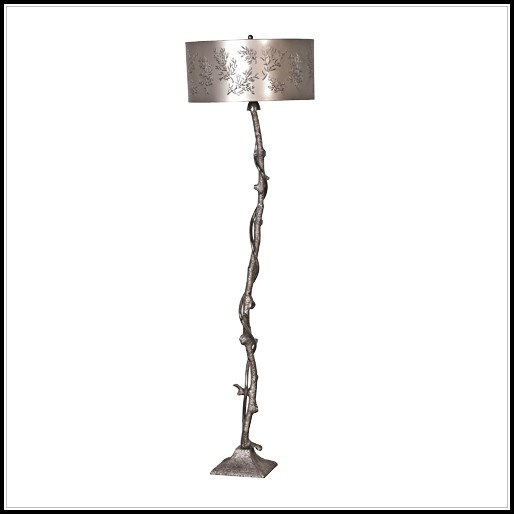 Shabby Chic Floor Lamp Stand
