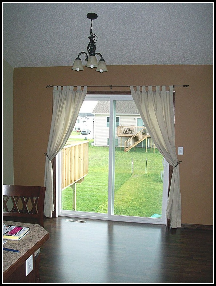 Sliding Door Curtains Ideas