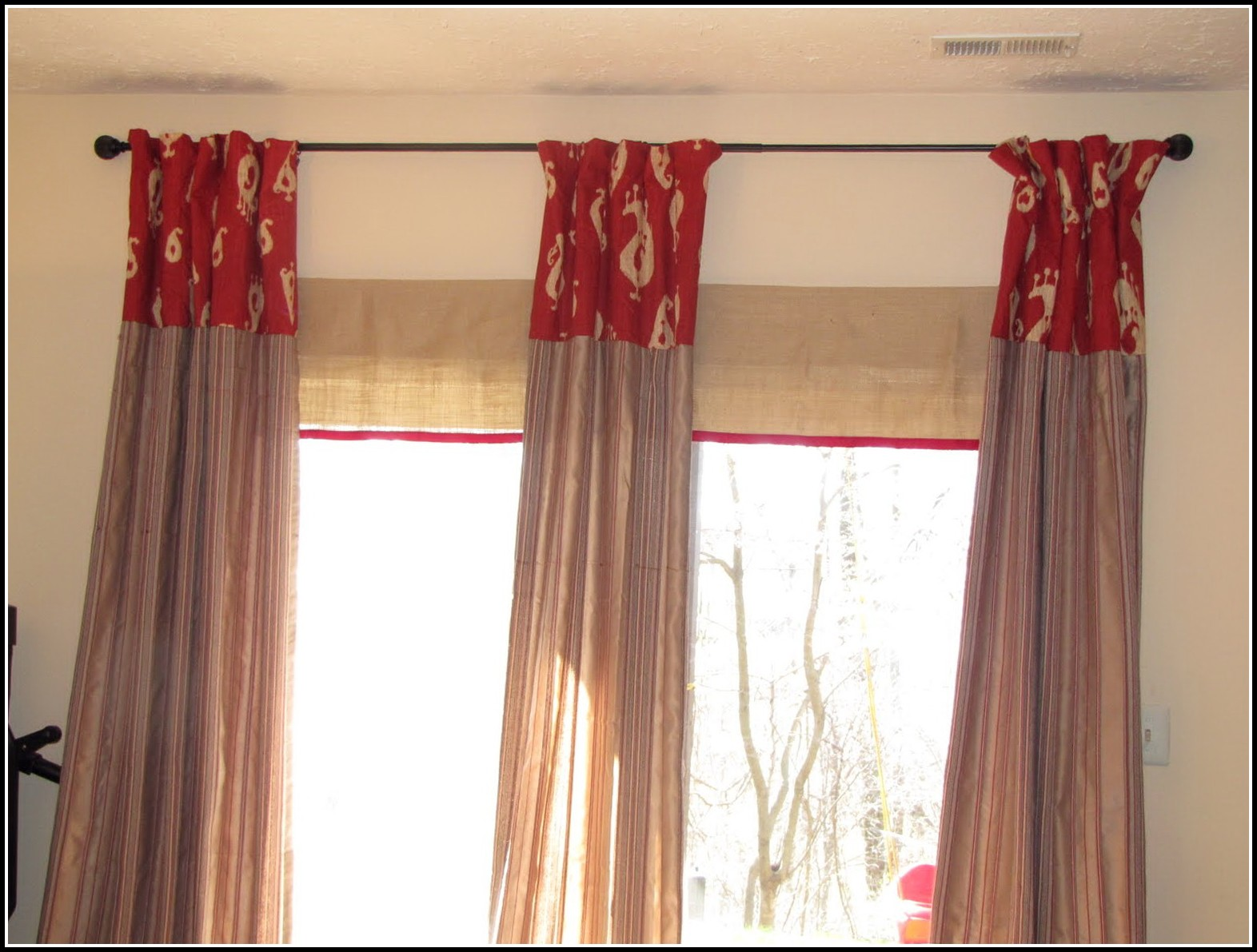 Sliding Door Curtains Target