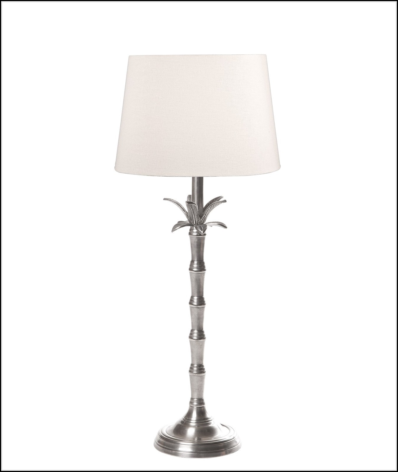 Small Palm Tree Table Lamp