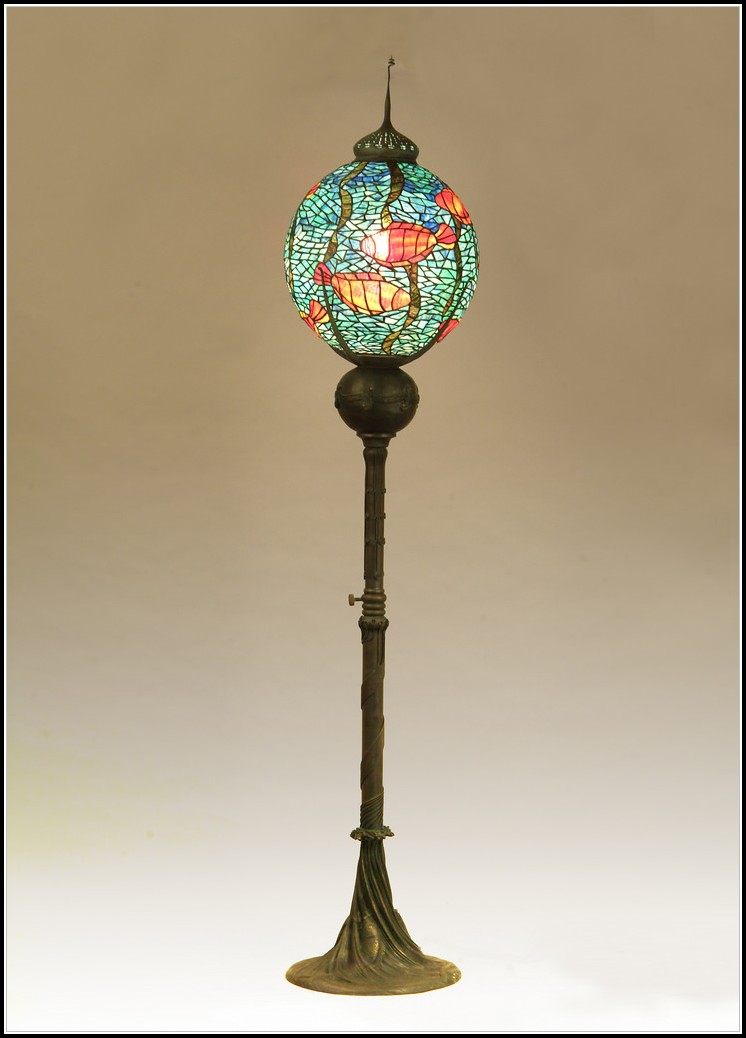 Stained Glass Floor Lamp