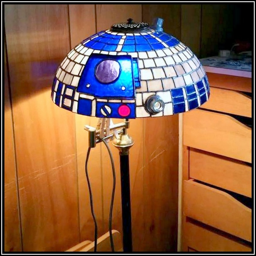 Stained Glass Lamp Shade Diy