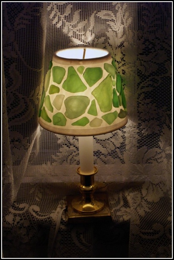 Stained Glass Sea Turtle Lamp