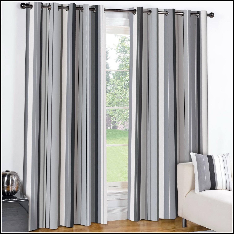 Stripe Grommet Curtain Panels