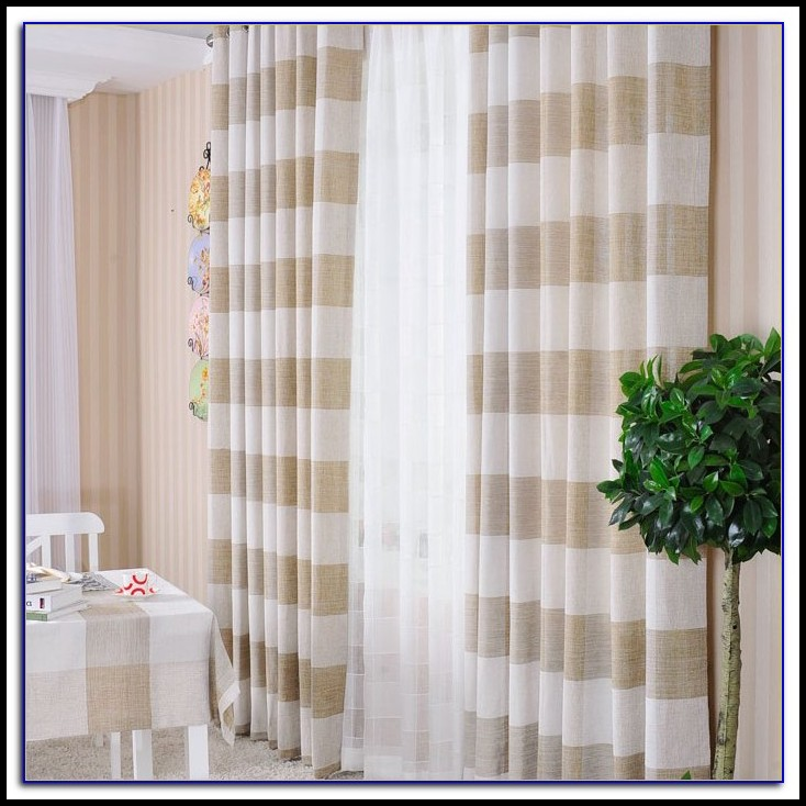 Striped Curtain Panels Horizontal