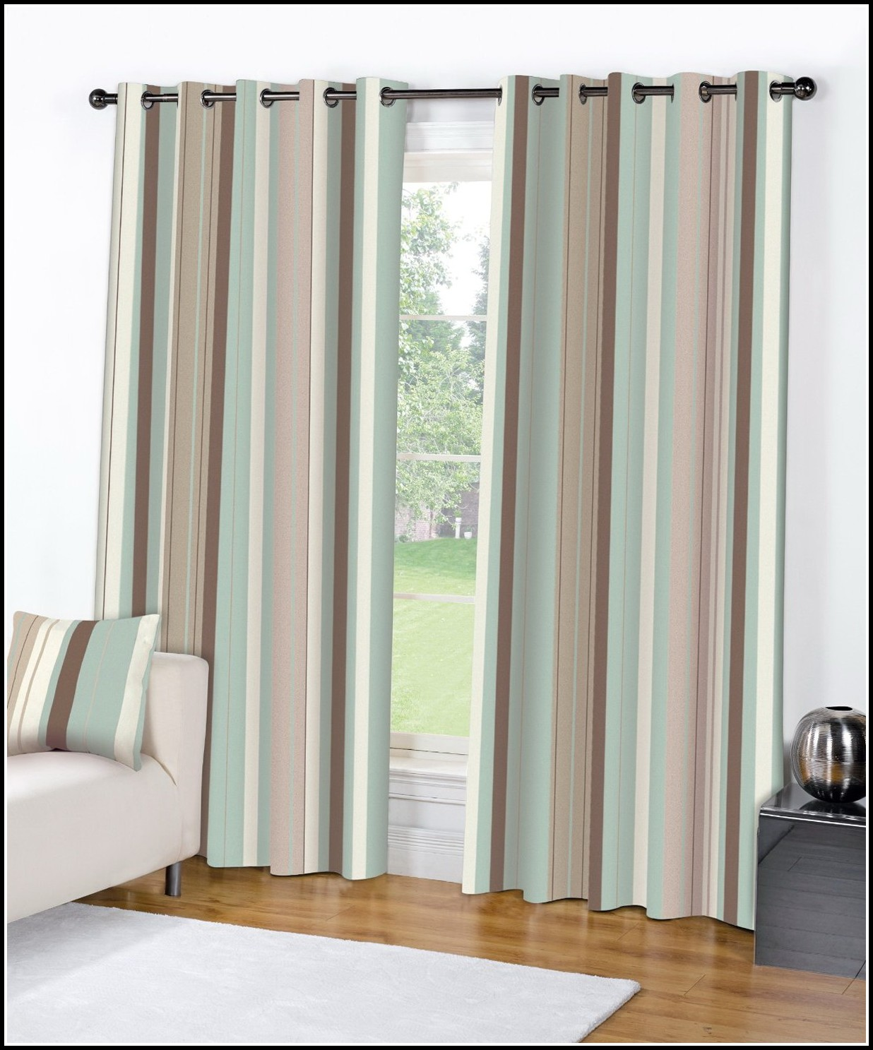 Striped Curtain Panels Vertical