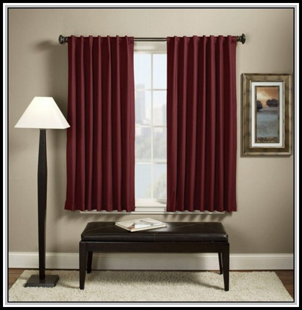 Thermal Blackout Curtains Walmart