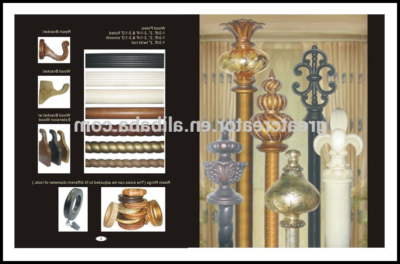 Unique Curtain Rod Finials