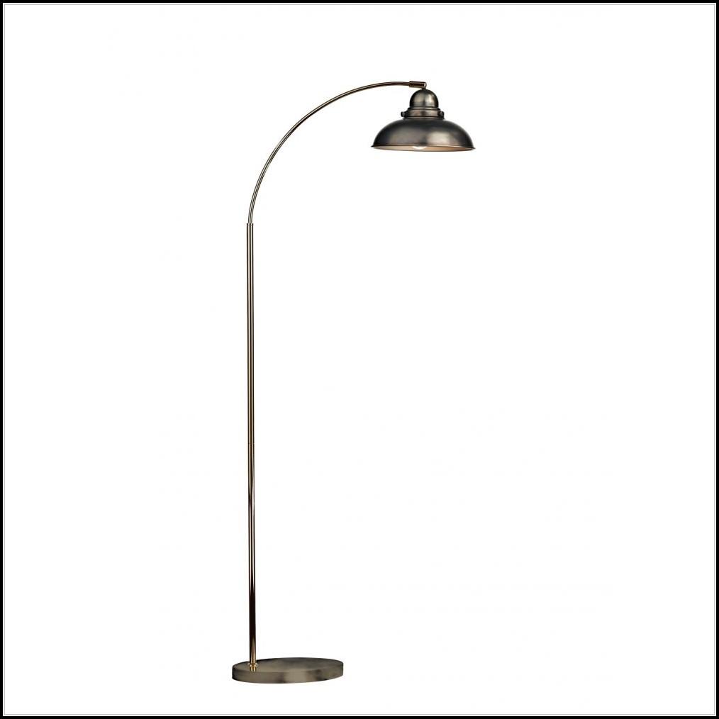 Vintage Chrome Arc Floor Lamp