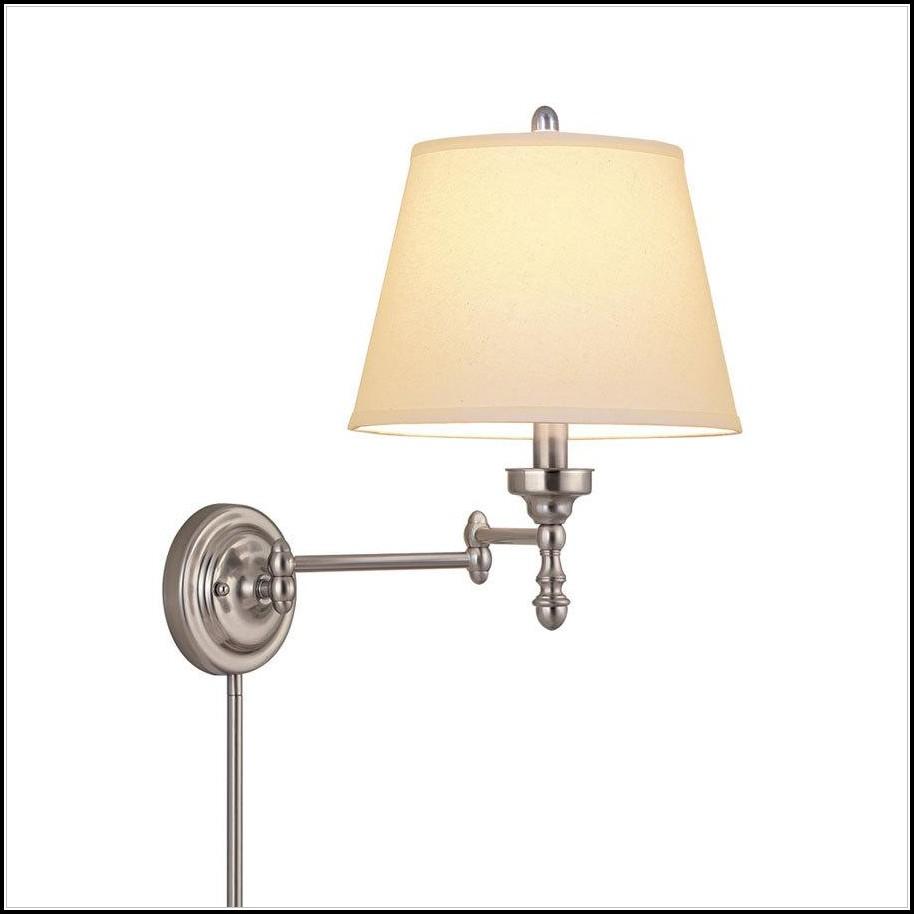 Wall Mounted Swing Arm Lamp