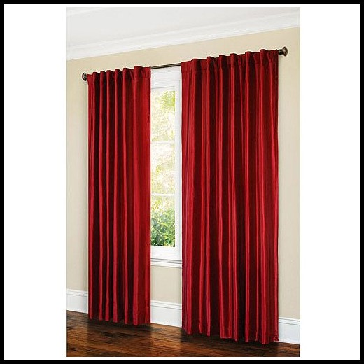 Walmart Faux Silk Curtains