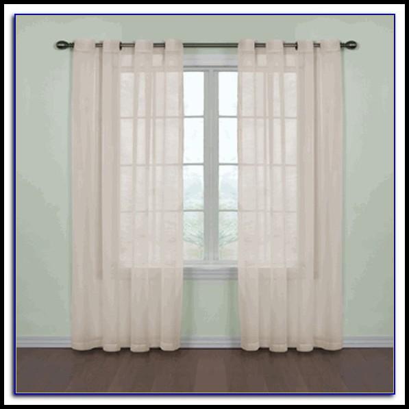 White Grommet Curtains 108