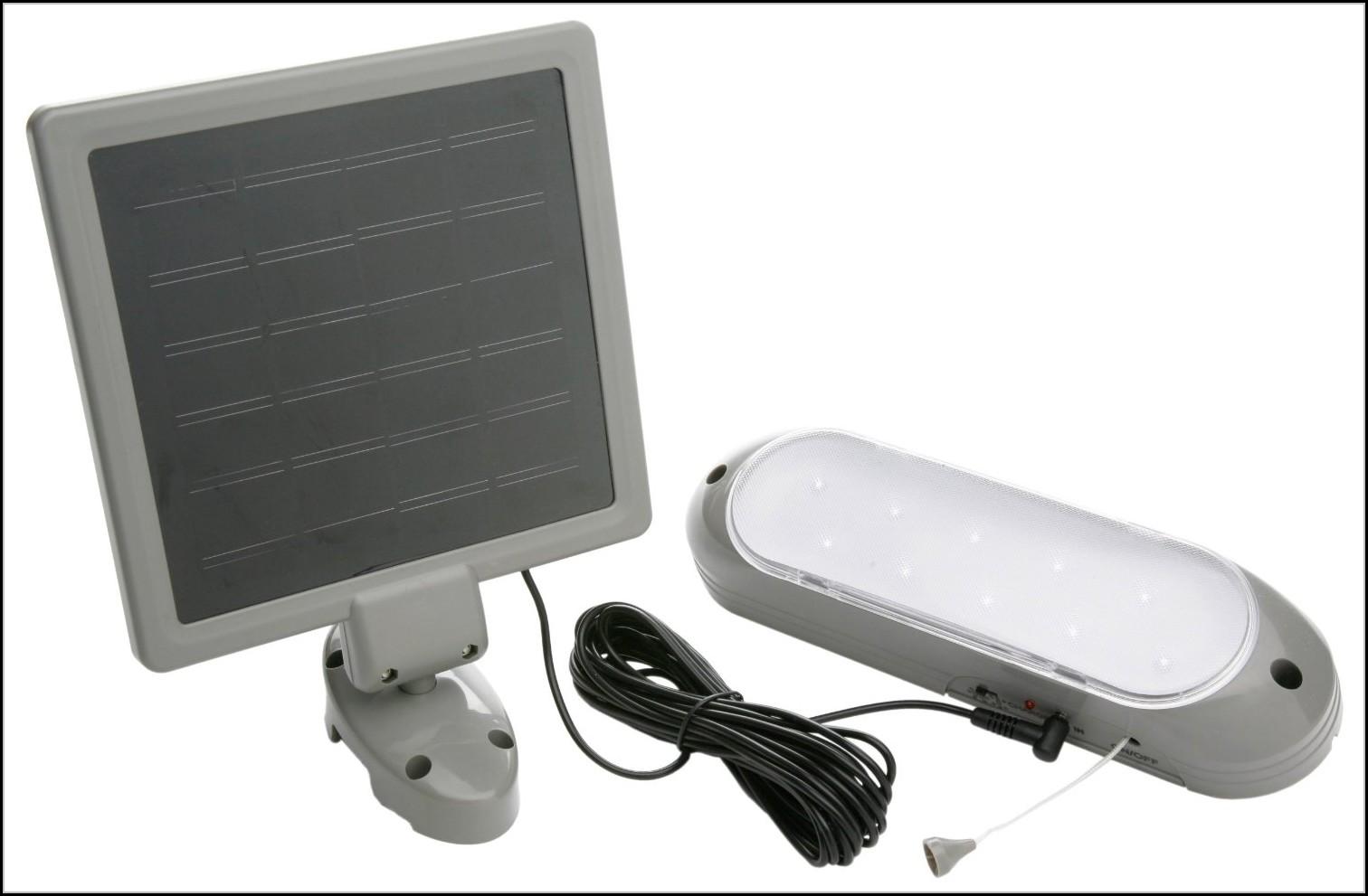 10 Led Solar Shed Light