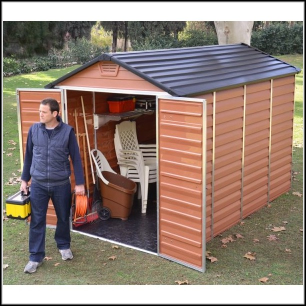 10ft X 10ft Plastic Shed