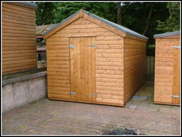 10ft X 10ft Shed