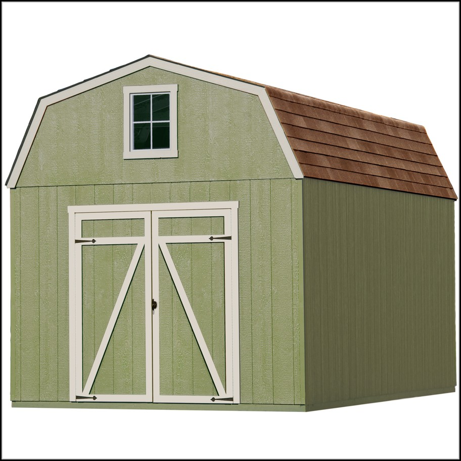 10ft X 10ft Wood Storage Shed