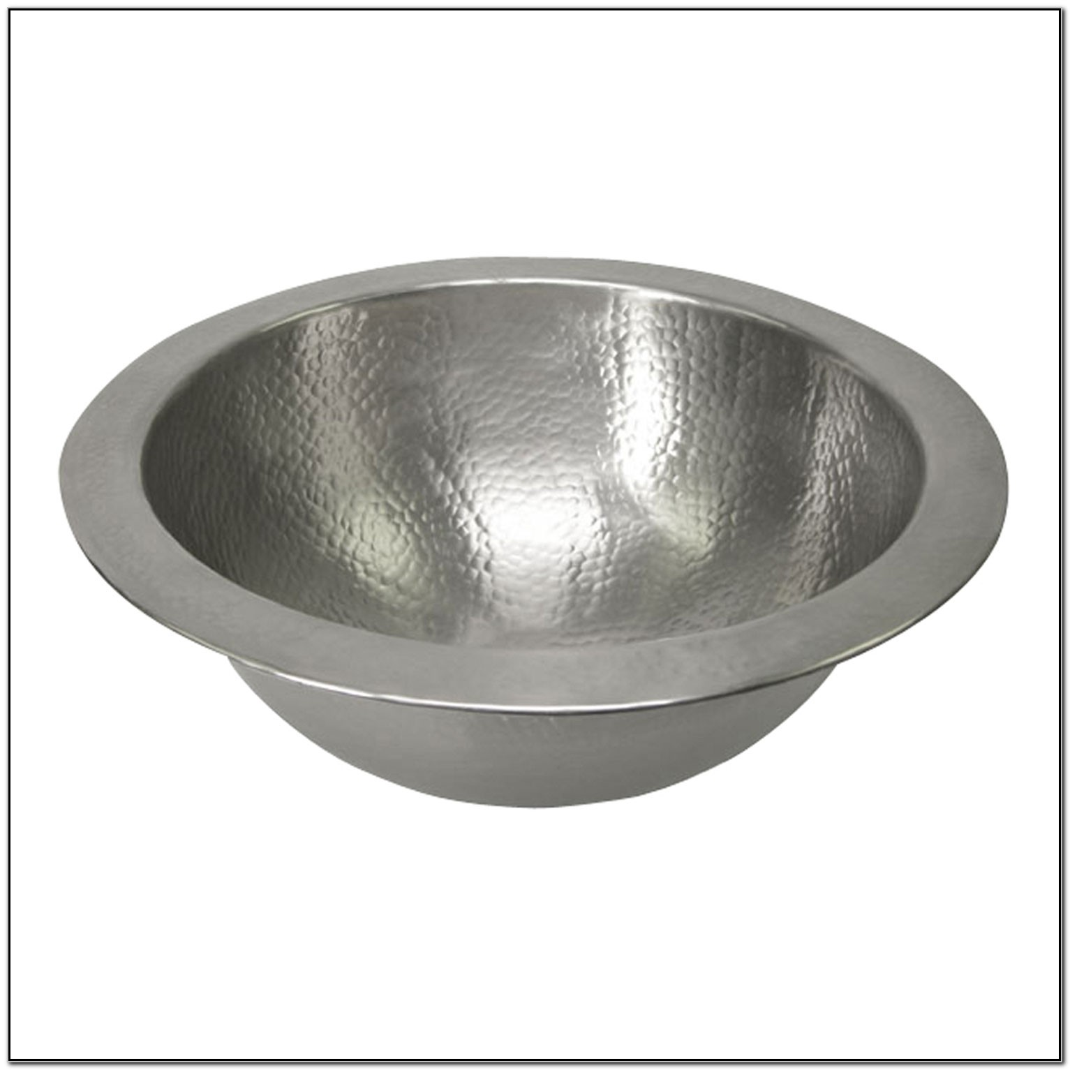 12 Inch Round Undermount Bathroom Sink