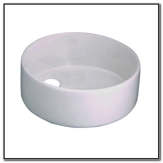14 Inch Vessel Sink White