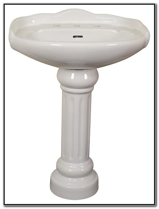 22 Inch Bathroom Pedestal Sinks
