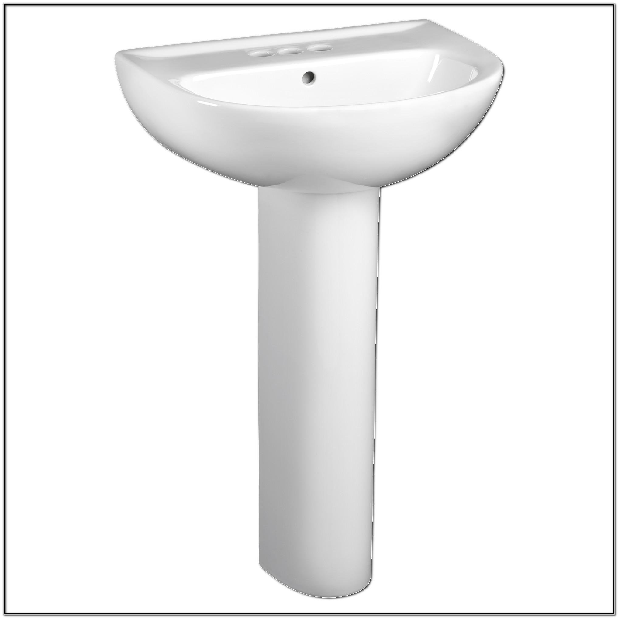22 Inch Pedestal Sink