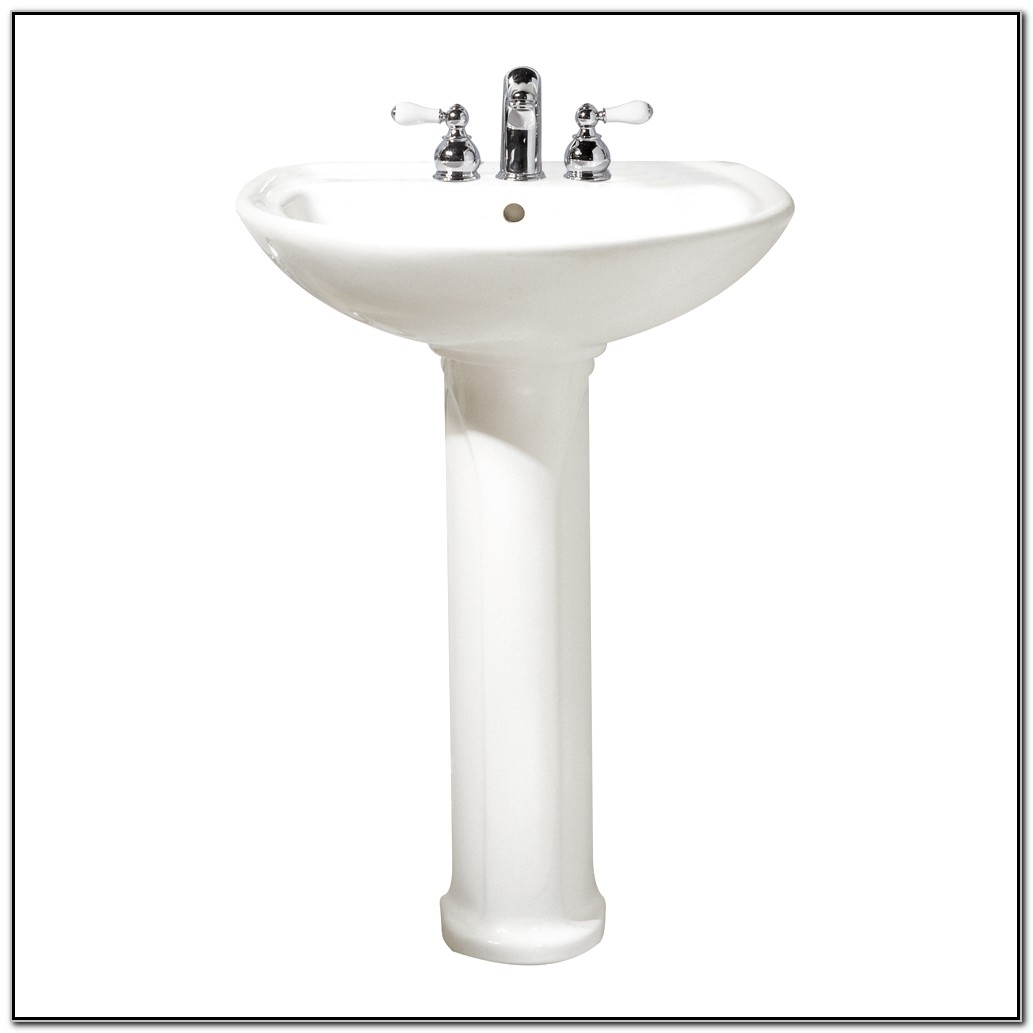 24 Inch Pedestal Sink Home Depot