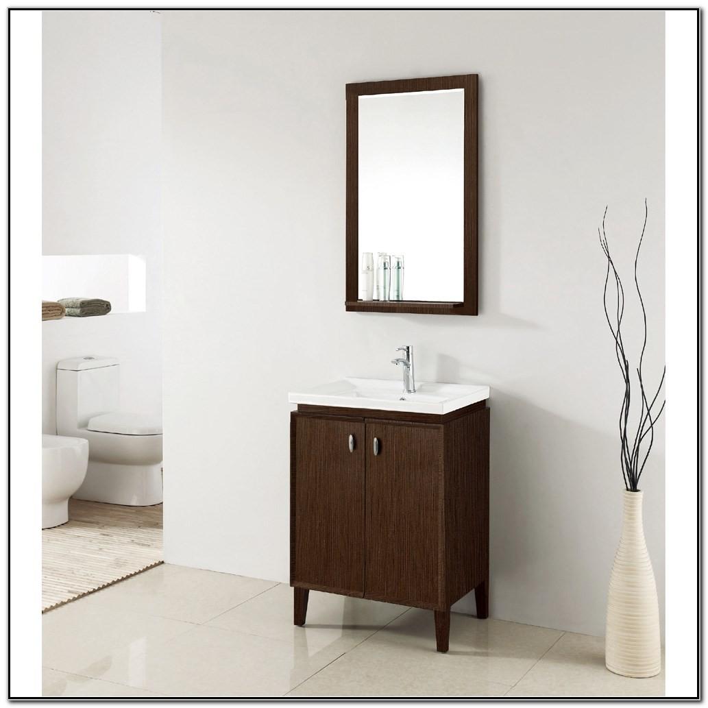 24 Single Sink Modern Bathroom Vanity