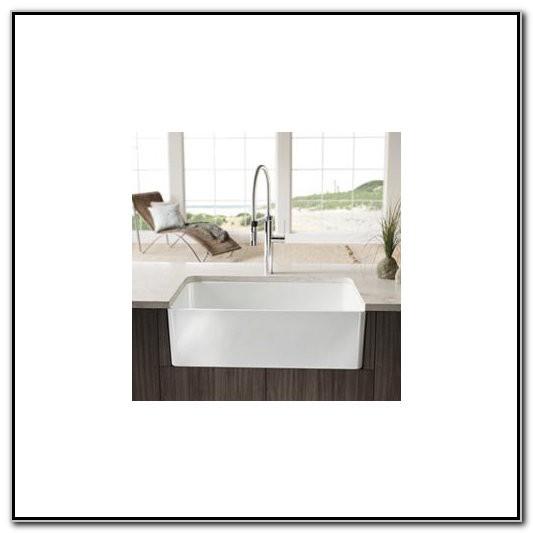 30 Inch White Apron Front Kitchen Sink