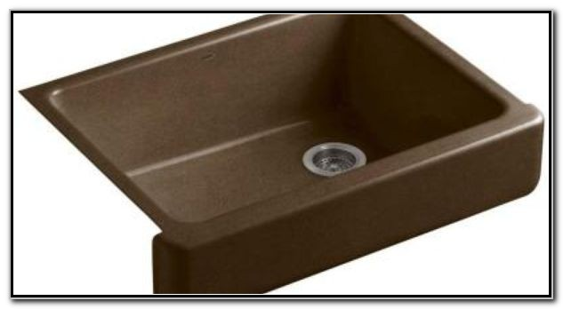 30 Undermount Cast Iron Sink