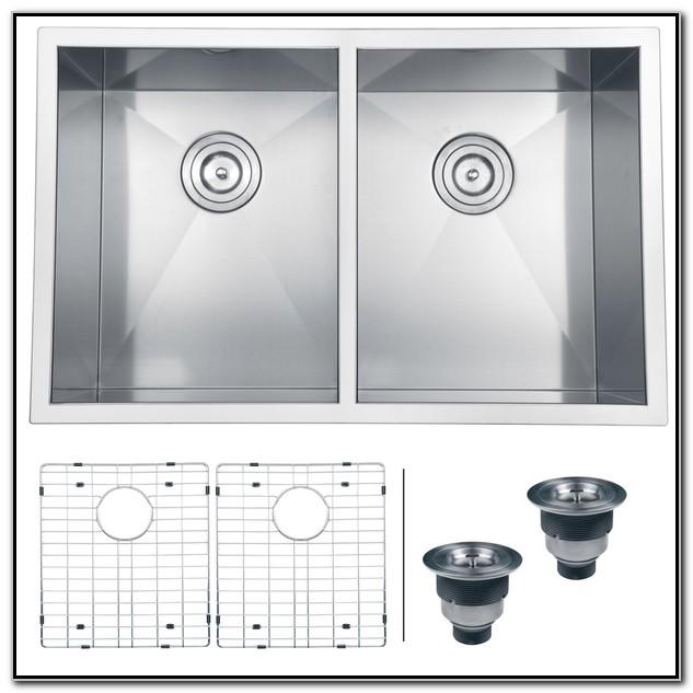 30 Undermount Double Kitchen Sink