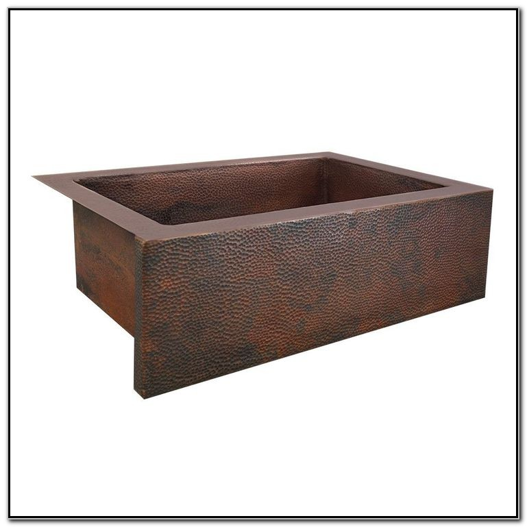 33 X 22 Copper Kitchen Sinks