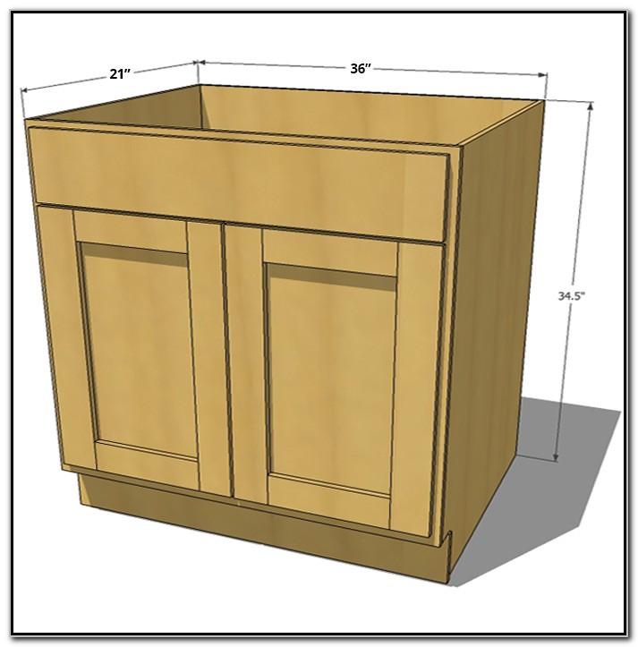 36 Sink Base Cabinet
