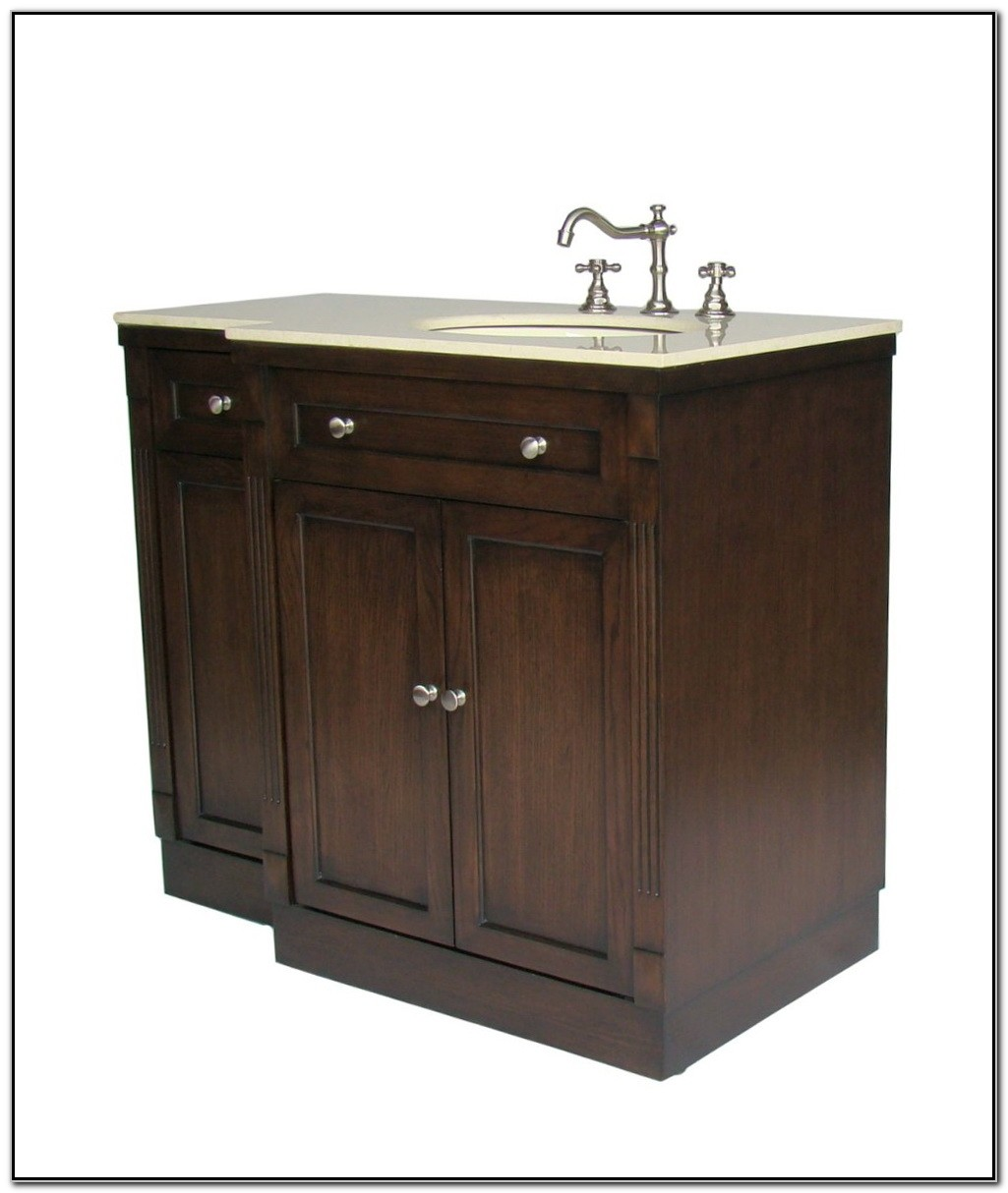 42 Inch Bathroom Vanity With Offset Sink - Sink And ...