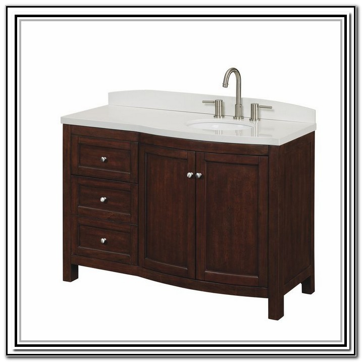 49 Vanity Top With Offset Sink