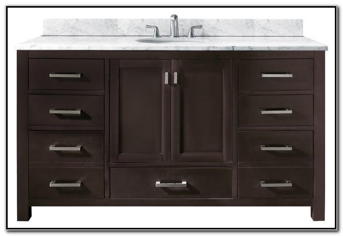 60 Bathroom Single Sink Vanity