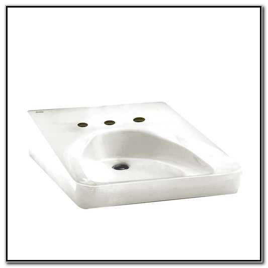 Ada Compliant Undermount Bathroom Sink