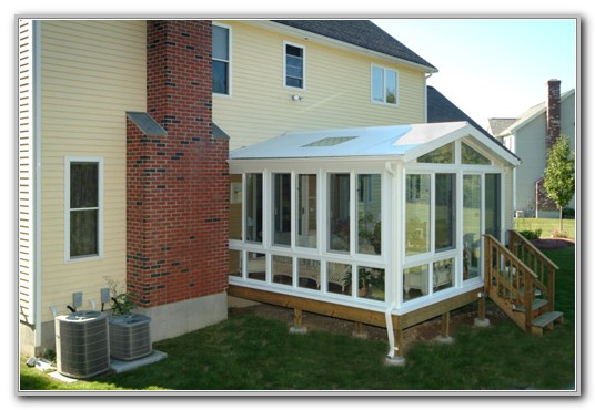 Adding On A Sunroom