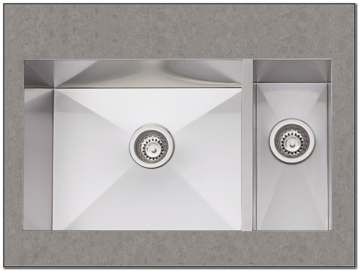 Ancona Double Bowl Undermount Kitchen Sink