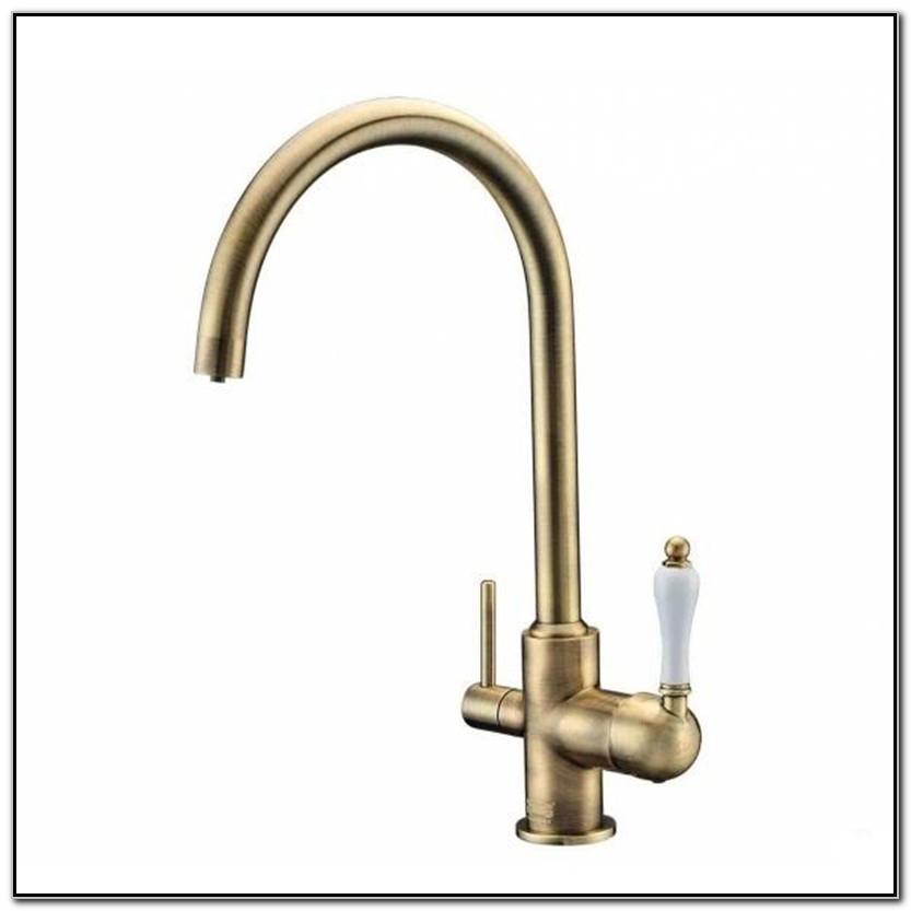 Antique Bronze Kitchen Sink Faucet