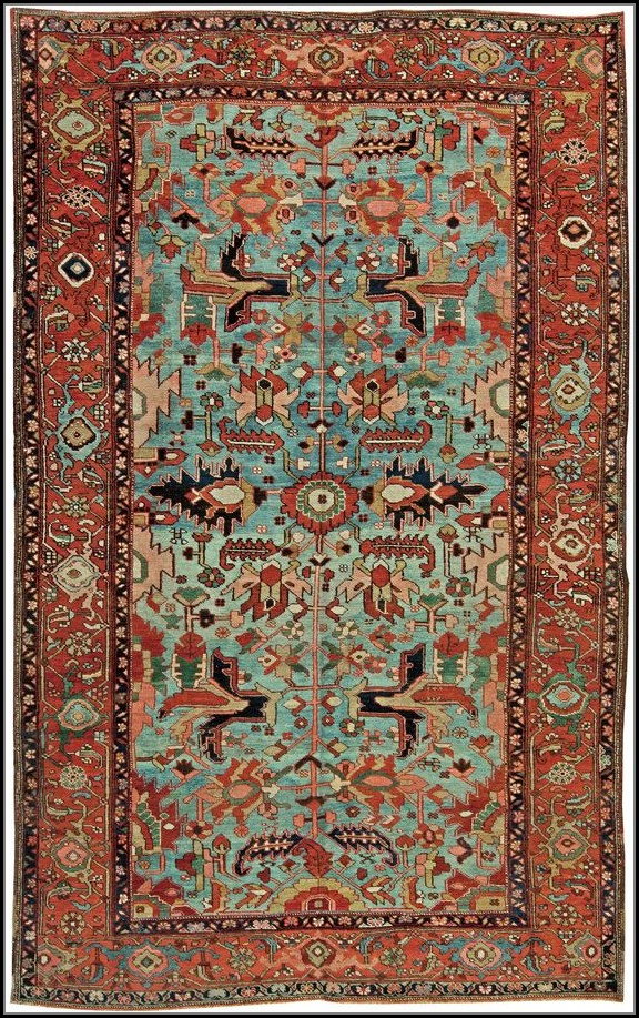 Antique Persian Rug Patterns