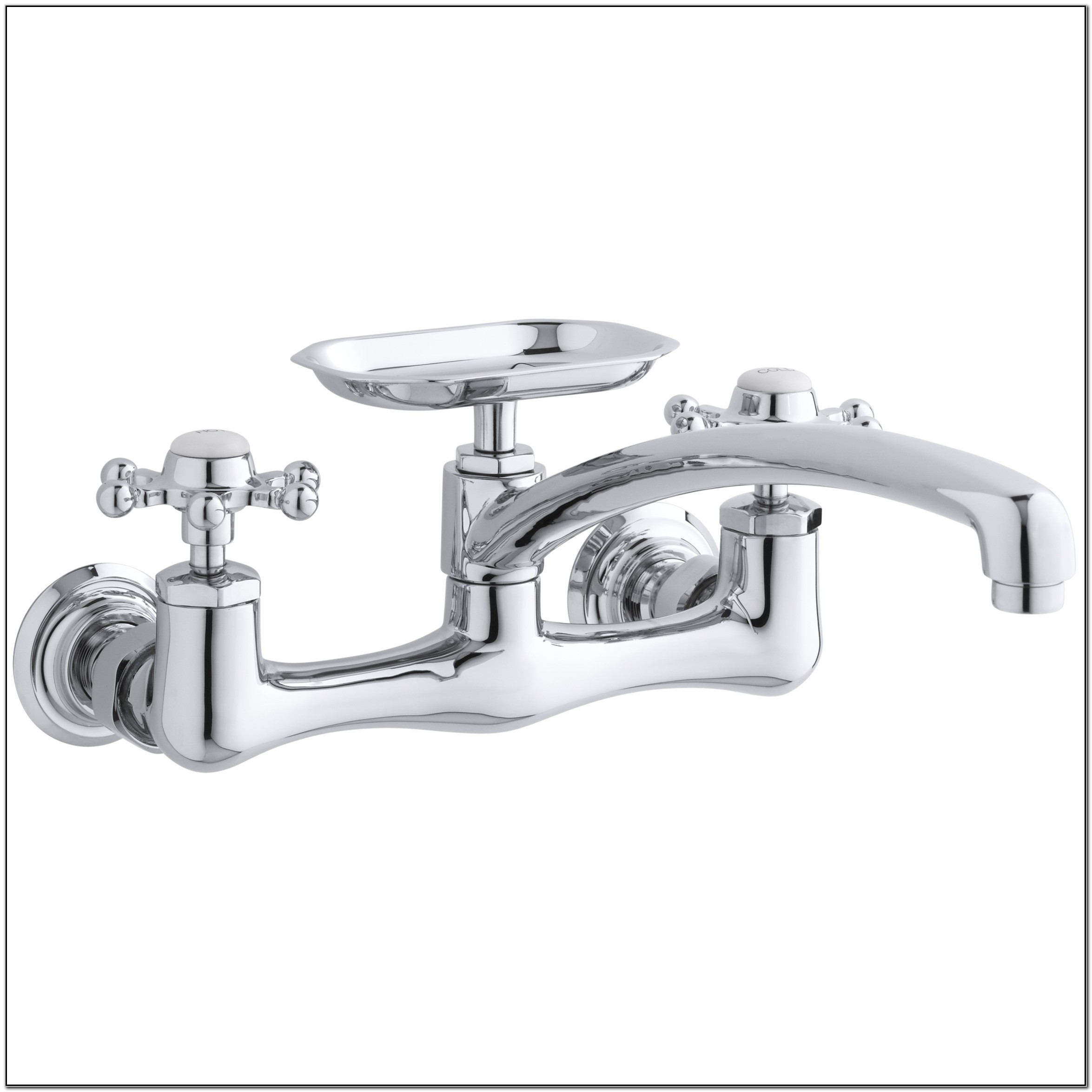 Antique Wall Mount Kitchen Sink Faucet