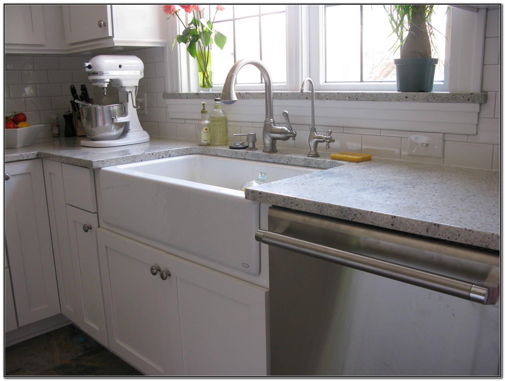 Apron Front Sink White