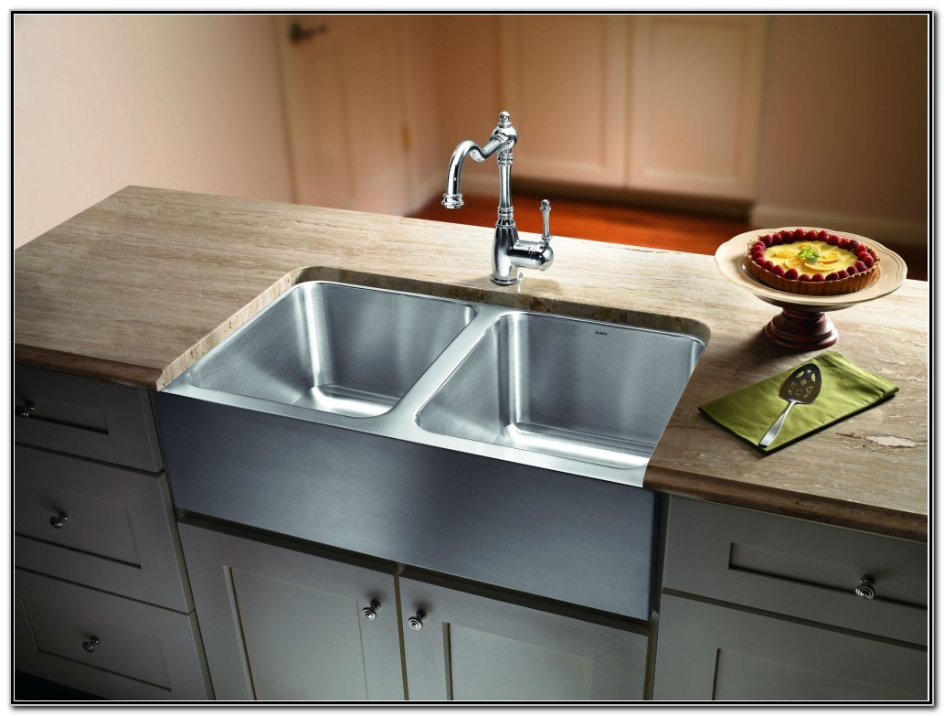 Apron Stainless Steel Sink