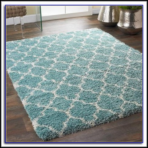 Aqua Colored Area Rugs