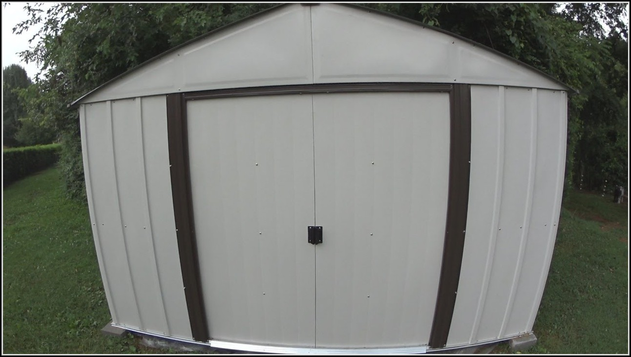 Arrow 8x10 Metal Storage Shed