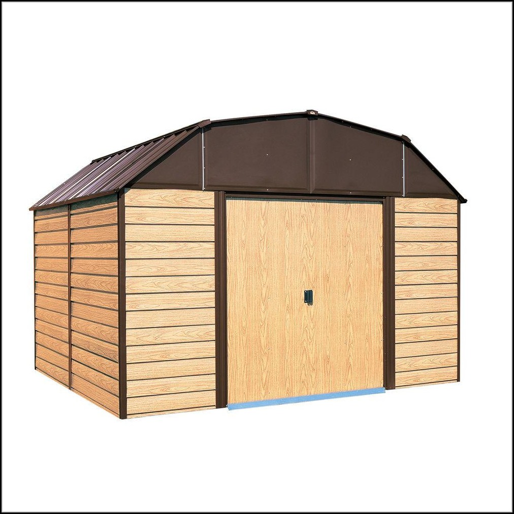 Arrow Galvanized Steel Storage Shed 10x14