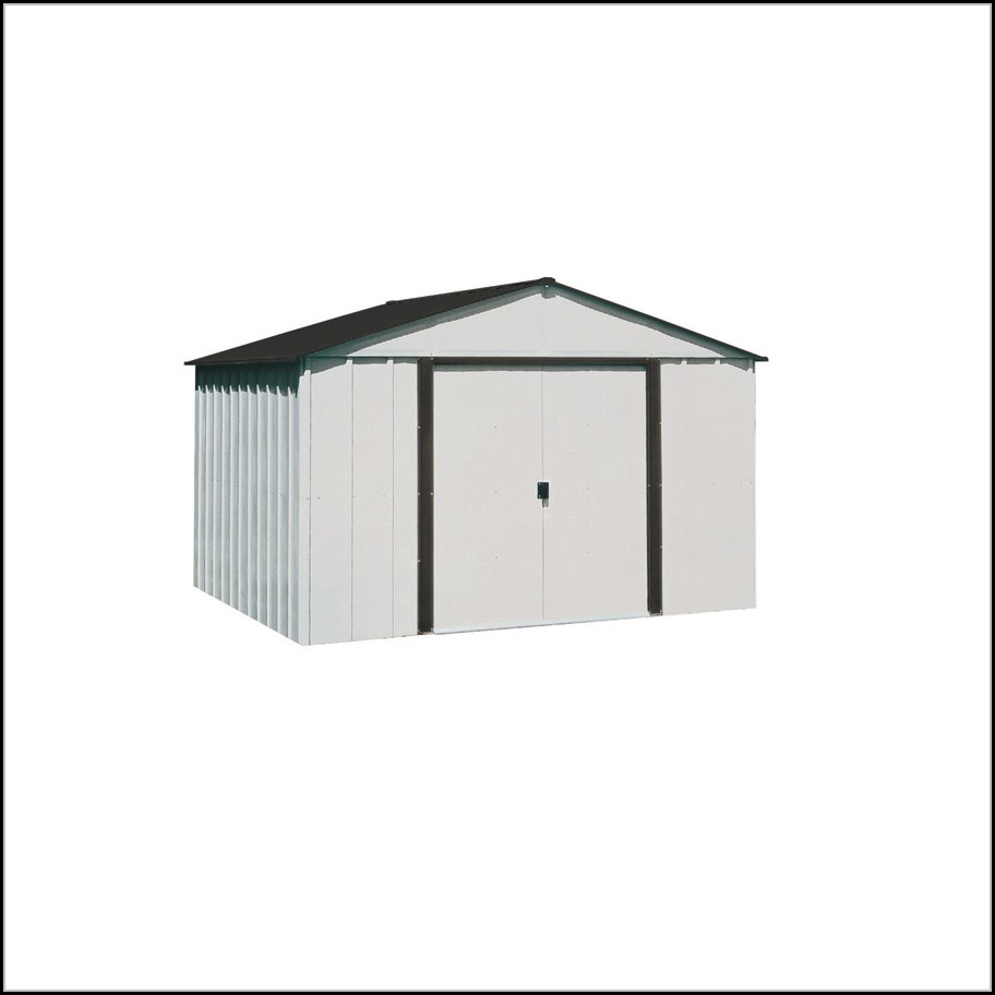 Arrow Galvanized Steel Storage Shed