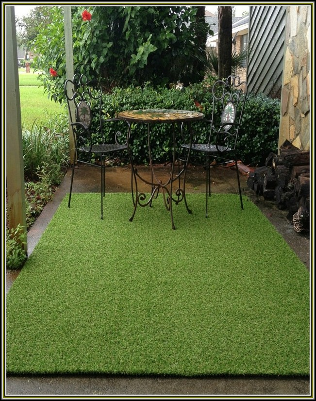 Artificial Grass Rug Outdoor
