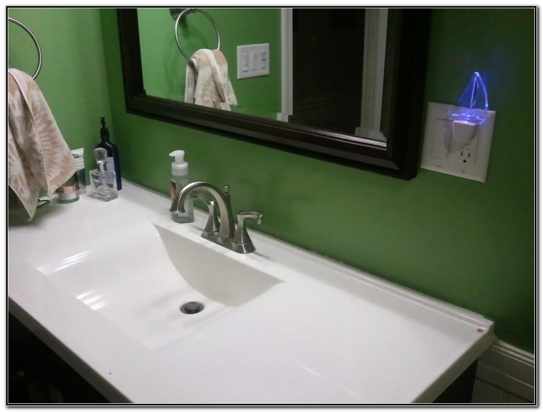 Backsplash For Bathroom Sink Ideas