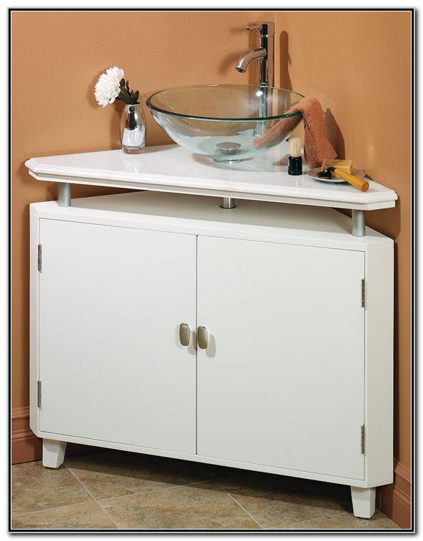 Bathroom Corner Sink Cabinet